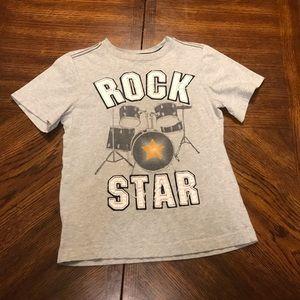 Boys rock star tee